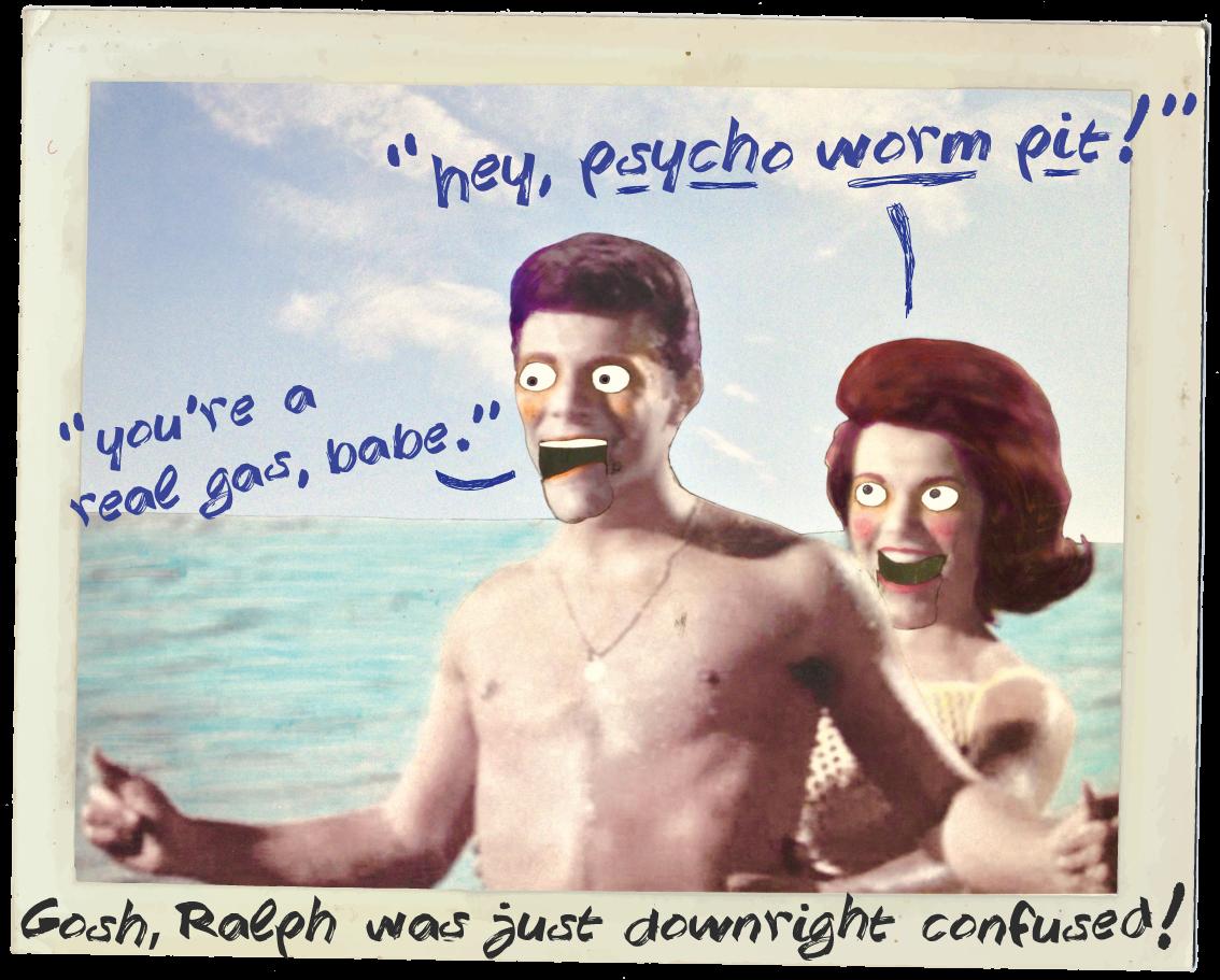 summer beach girls insultinator insult surf kickstarter fun funny